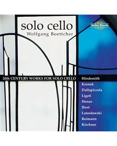 20th Century Works for Solo Cello