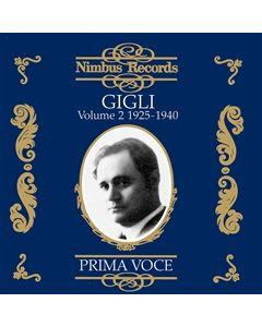 Beniamino Gigli Volume 2 1925-1939