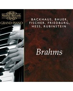 A Recital of works by Johannes Brahms