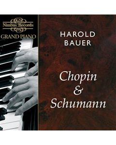 Harold Bauer plays Chopin and Schumann