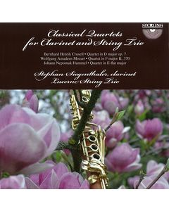 Classical Quartets for Clarinet and String Trio