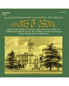 Memories of Osborne, Miss Dorothy Blake