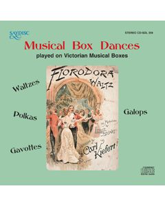 Musical Box Dances played on Victorian Musical Boxes