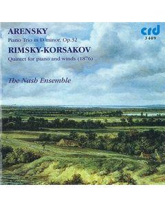 Anton Stephanovich Arensky, Trio in D minor & Nicolai Rimsky-Korsakov, Quintet in B flat - The Nash Ensemble