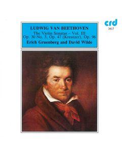 Beethoven: The Violin Sonatas Volume 3