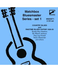 Matchbox Bluesmaster Series: Country Blues & Ragtime Blues Guitar 1926-30
