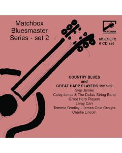 Matchbox Bluesmaster Series: Country Blues & Great Harp Players 1927-32
