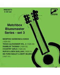 Matchbox Bluesmaster Series: Country Blues & Harmonica Kings 1927-31