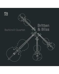 """Britten, Bliss, Delius and Purcell """"Works for String Quartet"""""""