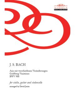 J.S. Bach arr. David Juritz: Goldberg Variations arranged for Violin, Guitar & Cello [Printed Music]