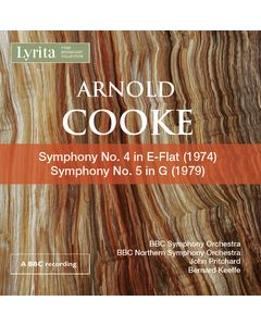 Arnold Cooke: Symphonies Nos. 4 & 5