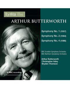 Arthur Butterworth Symphonies Nos. 1, 2 & 4