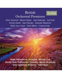 British Orchestral Premieres (4 CD Set)